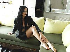 Stockings, Foot Fetish, Teen, Lingerie