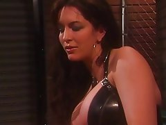 BDSM, Lesbian, Brunette, Latex