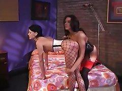 BDSM, Big Boobs, High Heels, Lesbian
