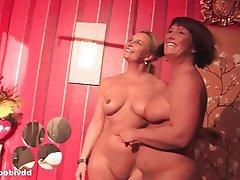 Lesbian, Masturbation, MILF, German