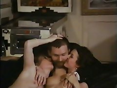 Hairy, Hardcore, Threesome, Vintage