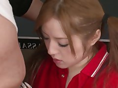 Brunette, Facial, Japanese, Teen