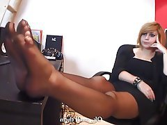 Stockings, Femdom, Foot Fetish, Pantyhose