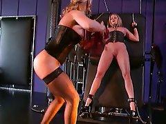 BDSM, Lesbian, MILF, Blonde