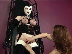 Lesbian sadomaso latex