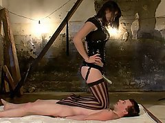 Mistress, Brunette, Feet, Femdom