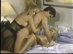 Cumshot, Facial, Pornstar, Threesome, Vintage