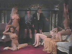Lesbian, Group Sex, Blonde, Brunette